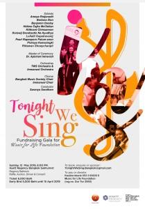Tonight we Sing Bangkok